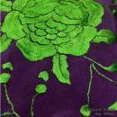 刺繍シージョ DPJG-T 濃紫+緑刺繍