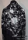刺繍シージョ BYS-T 黒+シルバー刺繍